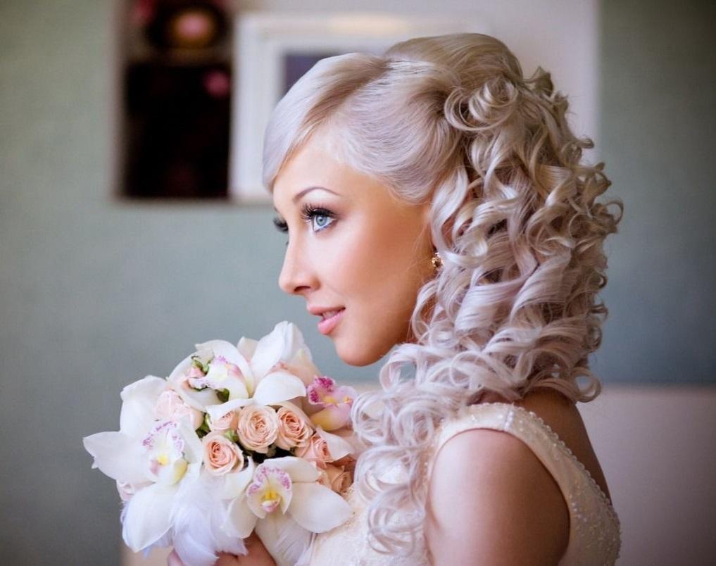 Свадебные прически и стрижки