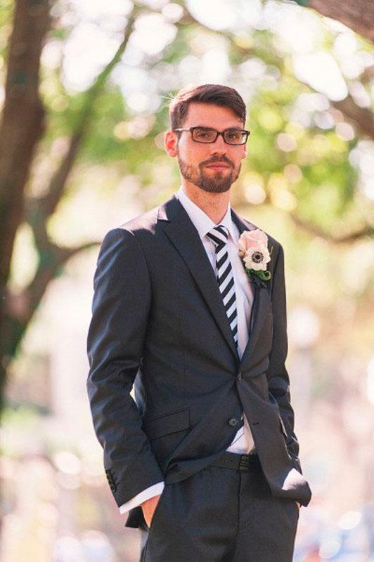 Фото мужских свадебных причесок
